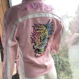 Leather Jacket - Ed Hardy