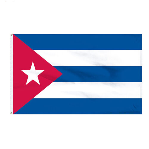 Flying Cuba Cuban Flag 3 x 5 Ft