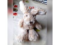 "Brand New ""Floppy Bunny"" by Little Floppy Friends plush soft Beanie toys kids toddler baby children"