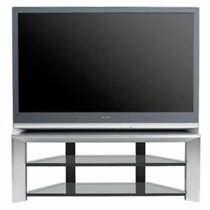 "Sony Wega 55"" tv for $130 with beautiful glass stand free"