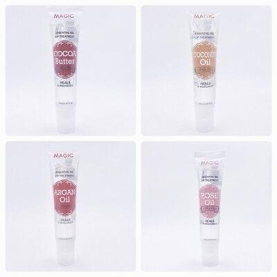 Lip-gloss Cocoa (Magic Lip Treatment Lip Gloss Cocoa Butter, Coconut, Argan or Rose Oil U Choose!)