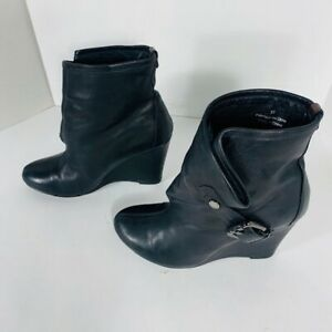 *RUDSAK - bottes cuir - femme taille 7 ou 37 ( Used 2 Times)*