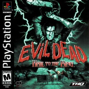 Evil Dead Hail to the King Play Station Game