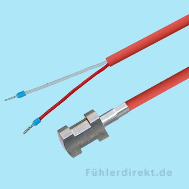 Fühler PT100 Kabelfühler Temperaturfühler PT 100 PVC 5 Meter Temperatursensor
