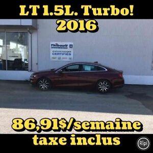 2016 CHEVROLET MALIBU LT 1.5L TURBO LT 1.5L Turbo