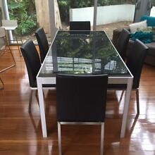 6 seater dining table and chairs Castlecrag Willoughby Area Preview