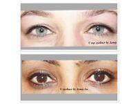 Microblading £80, Semi permanent makeup eyebrows £90, individual eyelashes from £40, Russian 3d £55
