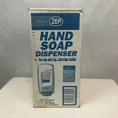 Commercial Zep Hand Soap Dispenser For Use With Zep Cartridge Refills New