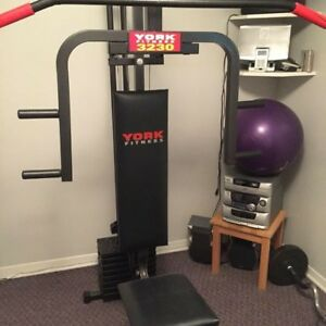 York fitness 3230 exercise station