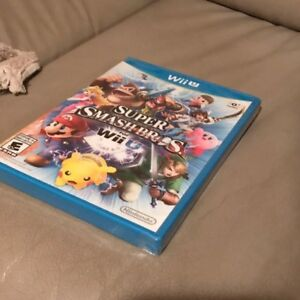 Super Smash Bros Wii U - SEALED 60$
