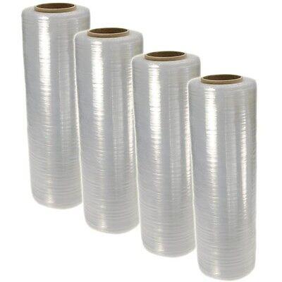 18 X 1500ft 100 Gauge Pallet Wrap Stretch Film Shrink Hand Wrap 1500 4 Rolls
