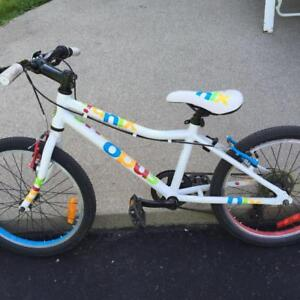 opus nix bike ages 6-10 20-inches excellent condition