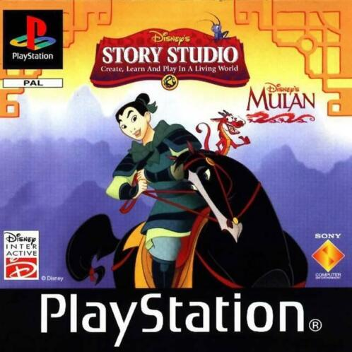 Disney's Verhalenstudio, Mulan (PlayStation 1)