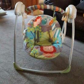 baby indoor swing