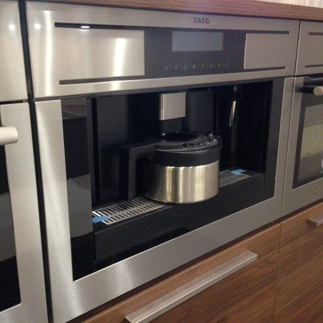 aeg pe4541m built in coffee machine ex display unused