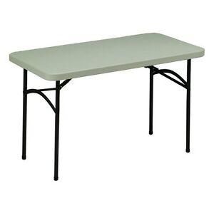 Samsonite 48-in x 24-in Rectangle Steel Folding Table