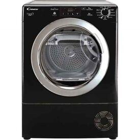 9KG Candy Grand'O Vita GVHD913A2BC Heat Pump Tumble Dryer - Black