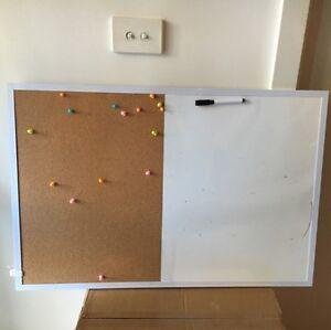 White/brown cork board Parkville Melbourne City Preview