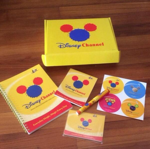 Vintage Disney Channel Collectible Gideon Stationery Set