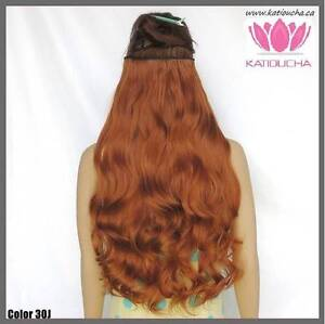 """Clip in hair extension,60 cm,24"""",NEW COLORS!!! AUBURN,COPPER RED St. John's Newfoundland image 6"""