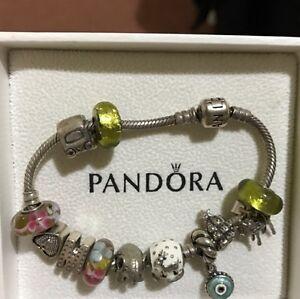 Pandora bracelet with charms Sydenham Brimbank Area Preview