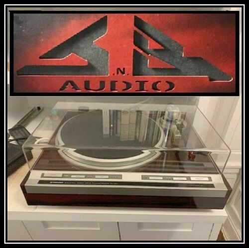"""Pioneer PL 505  """"NEW"""" Dust Cover for Turntable JnB -= 3 Week Build =-"""