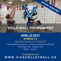 Womens Volleyball Tournament - Cash Prize!