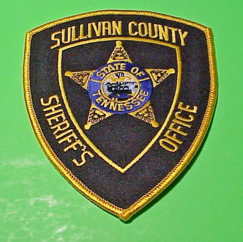 SULLIVAN COUNTY TENNESSEE TN SHERIFF /  POLICE PATCH FREE SHIPPING!!!
