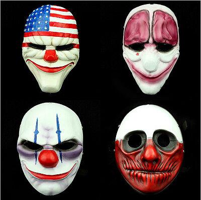 Dallas Wolf Chains Hoxton resina Maschere Halloween Prop (Halloween Payday 2)