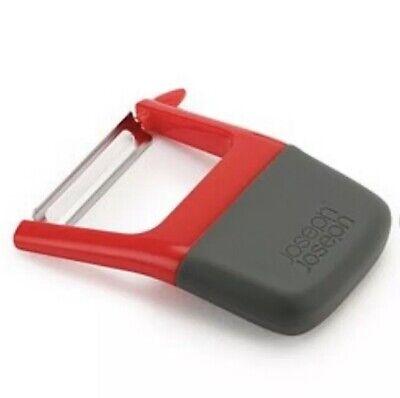 Joseph Joseph Duo Straight Peeler Red Stainless Steel Blade + Potato Eye Remover