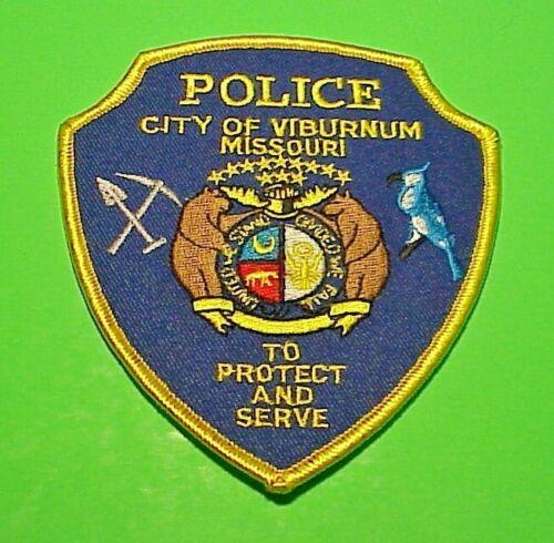 "VIBURNUM  MISSOURI  MO  4 1/2""  POLICE PATCH  FREE SHIPPING!!!"