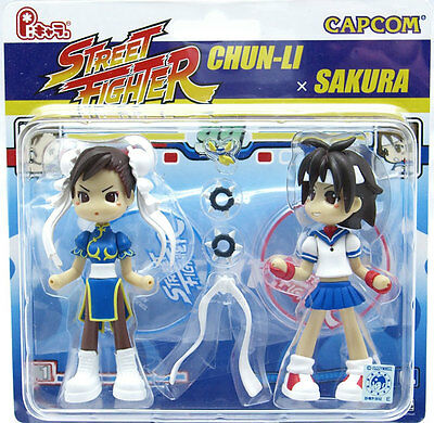 Pinky:st Street PC2006 Street Fighter Chun-Li Sakura Pop Vinyl Toy Figure Anime