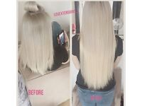 SUMMER OFFER £160 FULL HEAD ITIP, MICRO-RINGS, NANO-RINGS, TAPEIN, KERATIN BOND HAIR EXTENSIONS