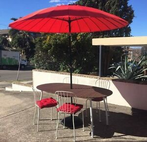 Outdoor Table, chairs, cushions (umbrella and base not included) Waverley Eastern Suburbs Preview