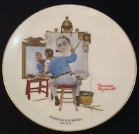 Norman Rockwell Decorator Plate