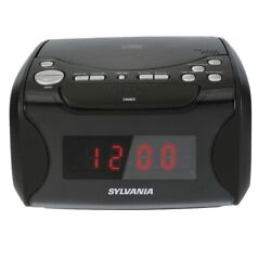 SYLVANIA Alarm Clock Radio with CD Player and USB Charging (SCR4986) - NEW™