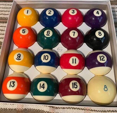 Genuine Aramith American Pool Balls