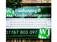 WJ Landscaping & Garden Maintenance