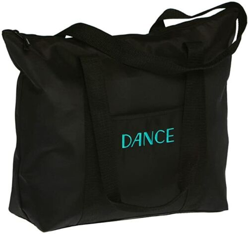 HORIZON DANCE 6824 BROADWAY DANCE TOTE HEAVY BLACK CANVAS