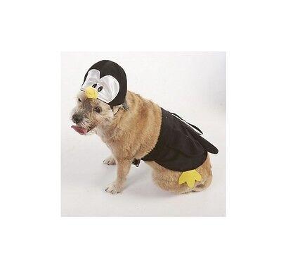 Halloween Kostüm Pinguin für Hunde - XS - Ml - 2 Teile Satz ()
