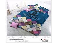 Designer Inspired Bedding Set