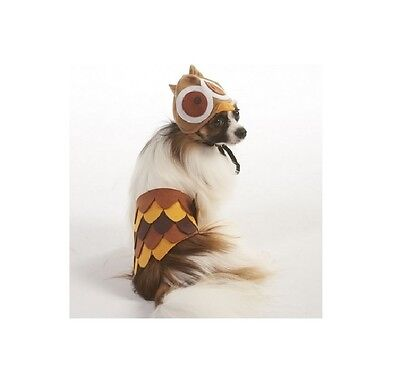 Halloween Kostüm Eule für Hunde - XS - Ml - 2 Teile Satz ()