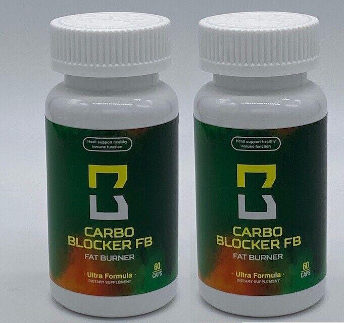 Carbo Blocker FB (3 Bottles)  As seen on TV Fat burner Weight Loss Pierda Peso 1