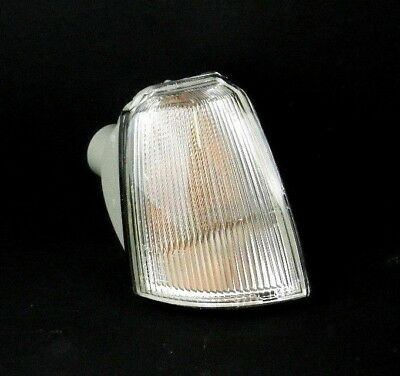 RENAULT 19 1992-1995 O/S FRONT RIGHT INDICATOR REPEATER CLEAR LAMP LIGHT LENS RH