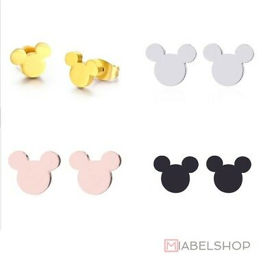 Ohrringe Damen Ohrstecker Micky Maus Mickey Disney Land - Disney Mickey Ohren