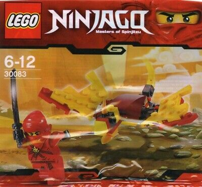 Lego 30083 Ninjago Roter Ninja Kay mit Schwert - Drachen Ninja Schwert