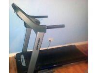 Horizon 841T Folding Motorised Treadmill - Includes FREE Gold's Gym Stride Trainer 300