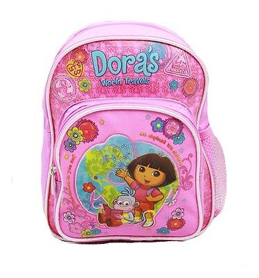 Dora The Explorer 10 Mini Backpack In Pink With Boots (100% Authentic)