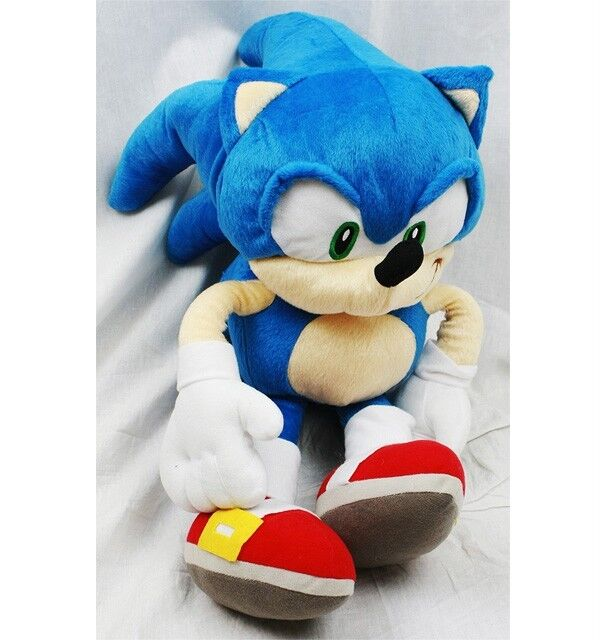 Sonic The Hedgehog Plush Backpack Bag Doll Licensed By Sega Approx. 20 Tall