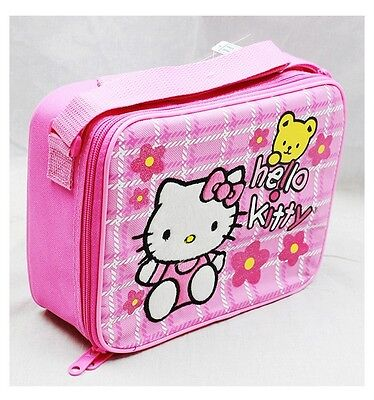 NWT Sanrio Hello Kitty Insulated Lunch Box Bag Snack Box with Insulation Lunch ()